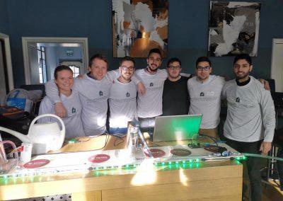 Team Schell mit Prototyp